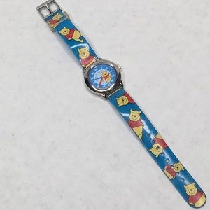Vintage Disney Special Edition Winnie the Pooh Learn to Tell Time Analog Watch